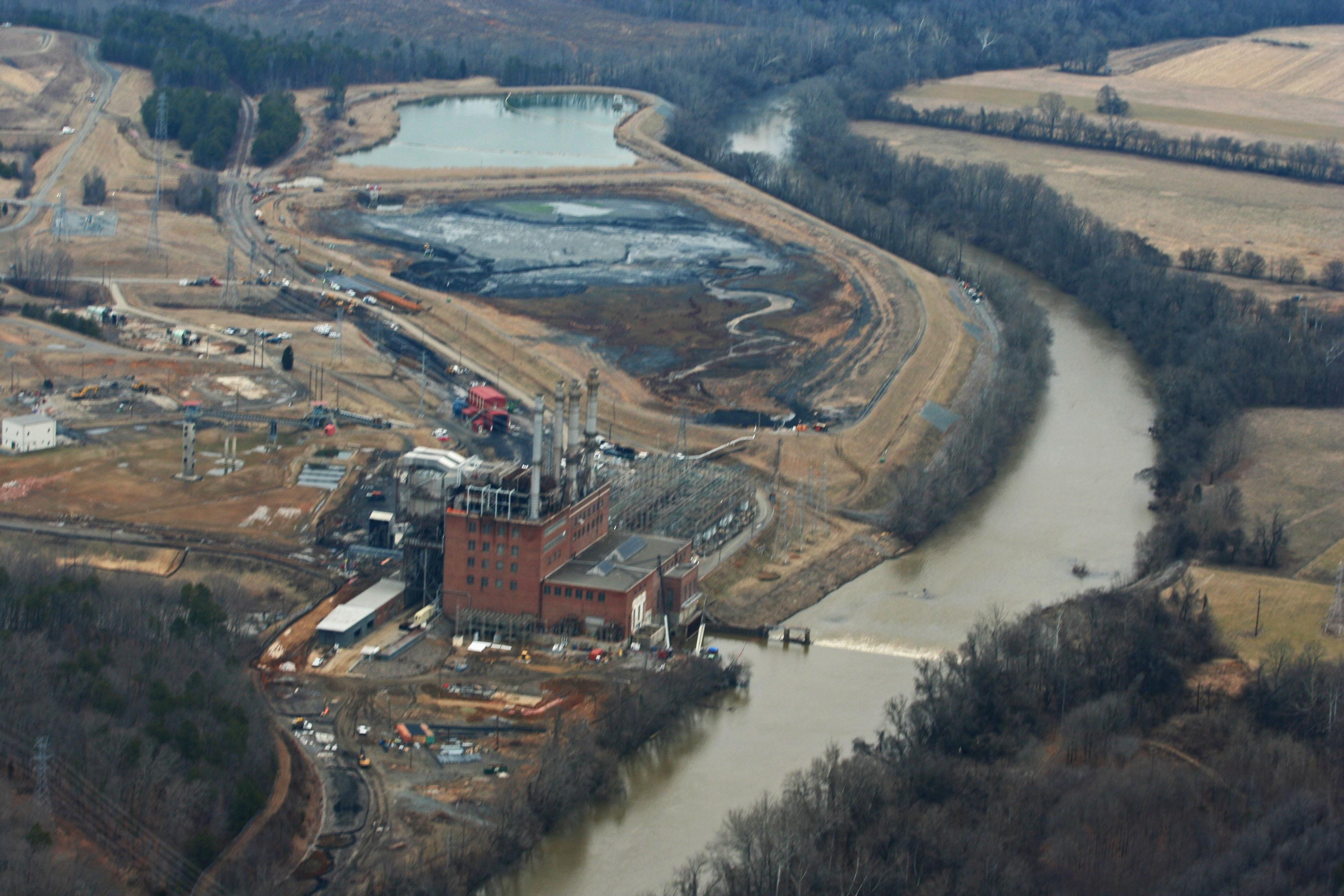 Coal ash spill impact wfdd
