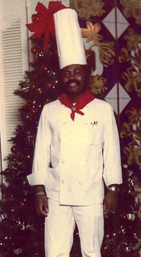 Clayton Sherrod in 1976. He began as a dishwasher at a Birmingham, Ala., country club in 1964 and worked his way up to head chef.