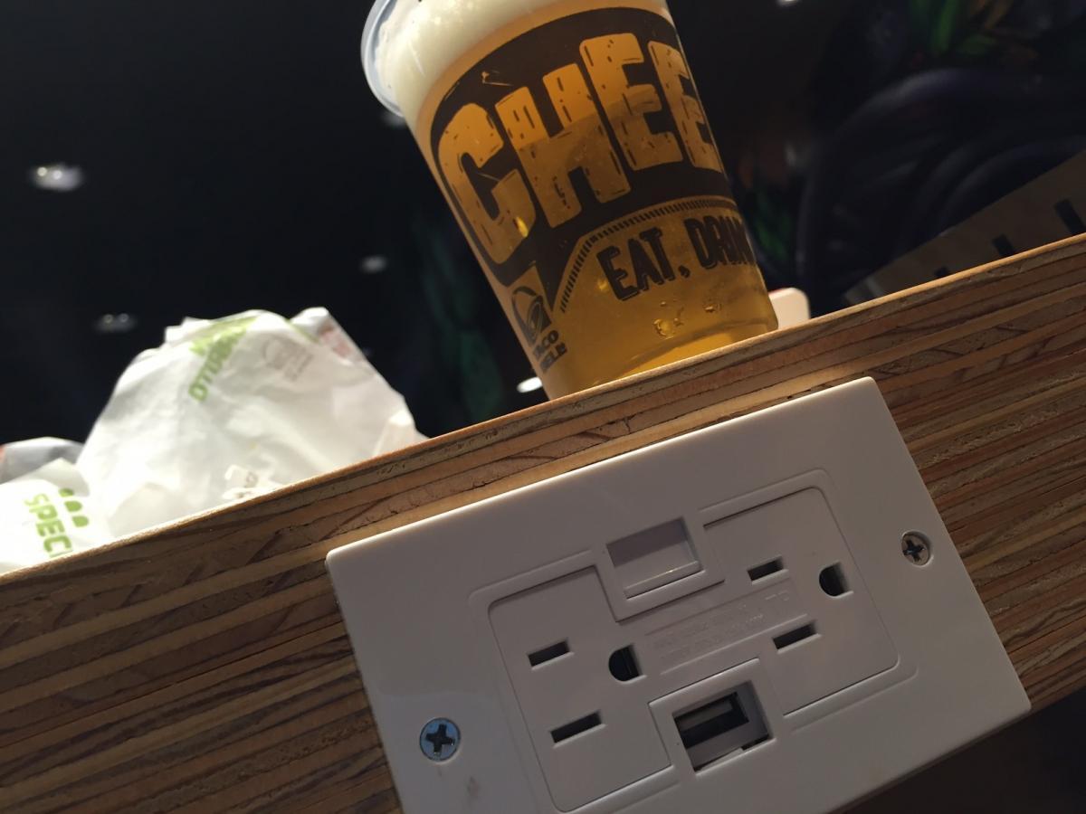 USB Ports! Millennials love USB Ports!