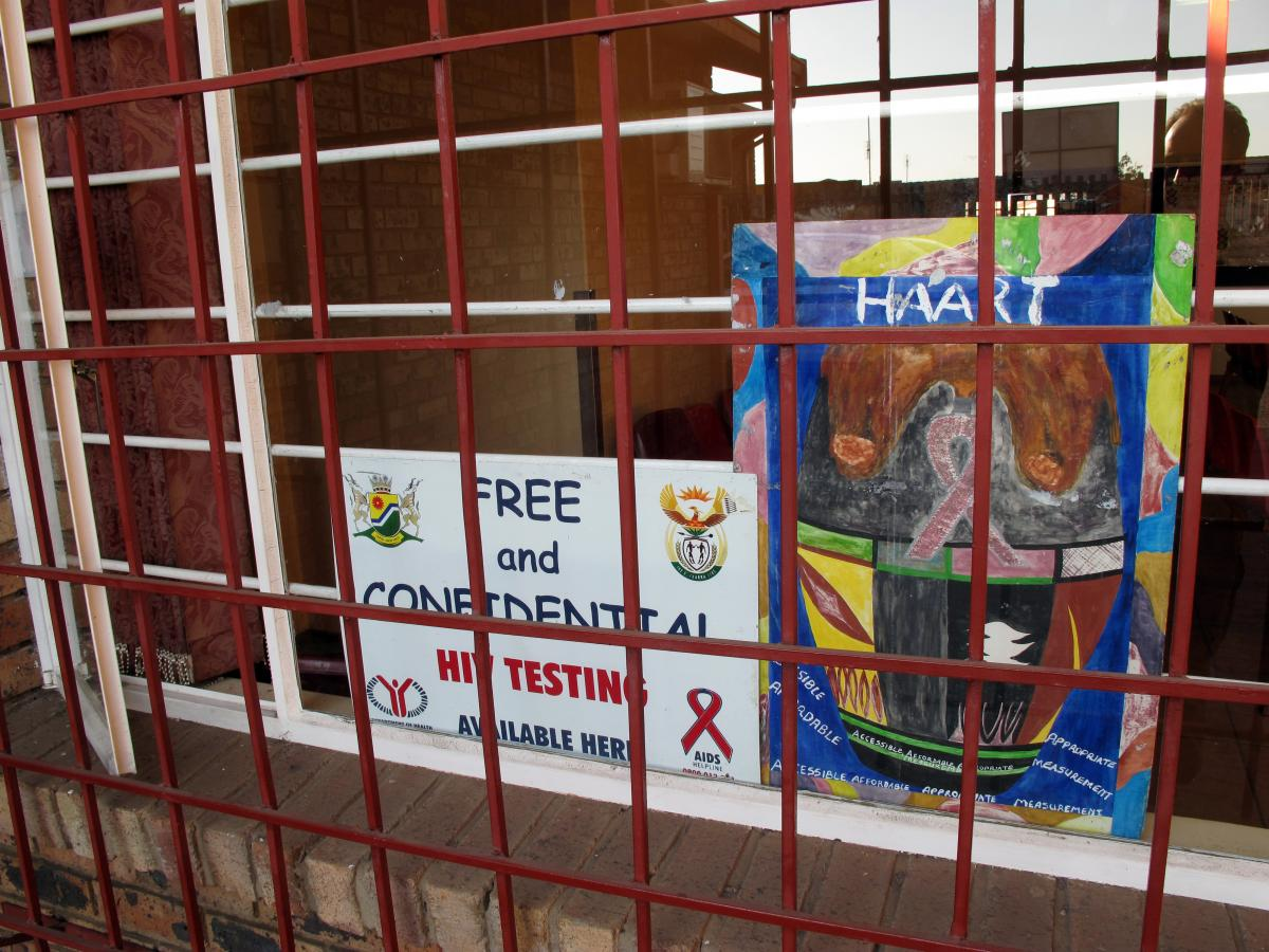 Now in South Africa, routine HIV services, including testing and treatment, must be offered at all local health facilities, such as this small clinic in Soweto.