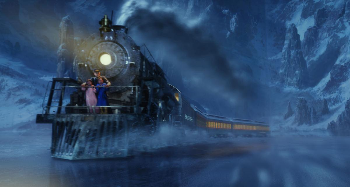 The train in the film The Polar Express was inspired by the 1225.
