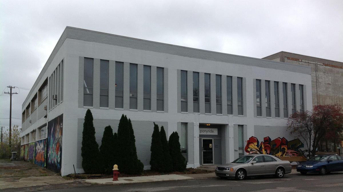 The Ponyride warehouse hosts several Detroit-based businesses.