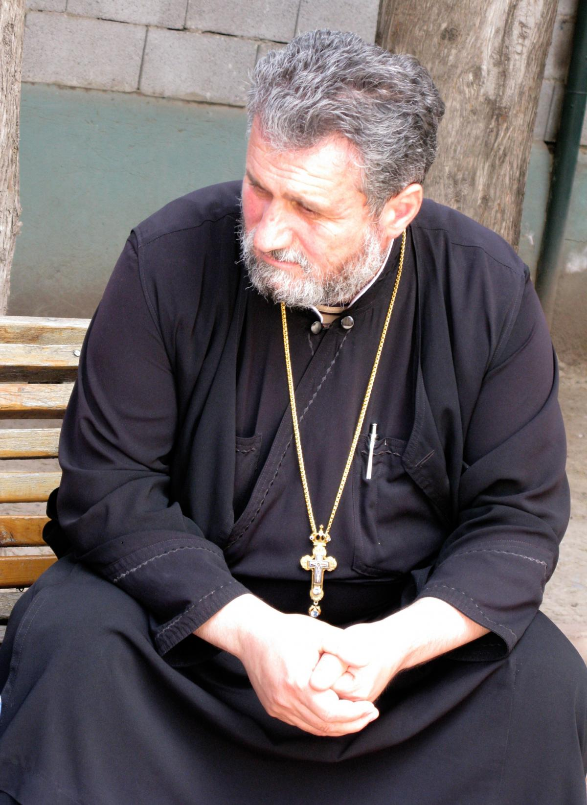 """The Rev. Mikael Botkovali of the Georgian Orthodox Church says homosexuals """"will go to hell,"""" but he condemns the priests who led a mob against LGBT demonstrators in Tblisi."""