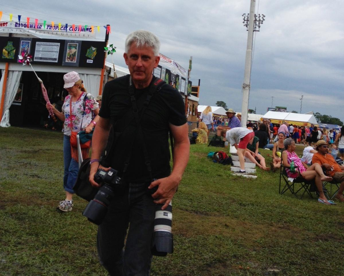 Skip Bolen has attended the New Orleans Jazz & Heritage Festival for years, competing with other photographers for the best shots — and forming relationships with performers in the process.