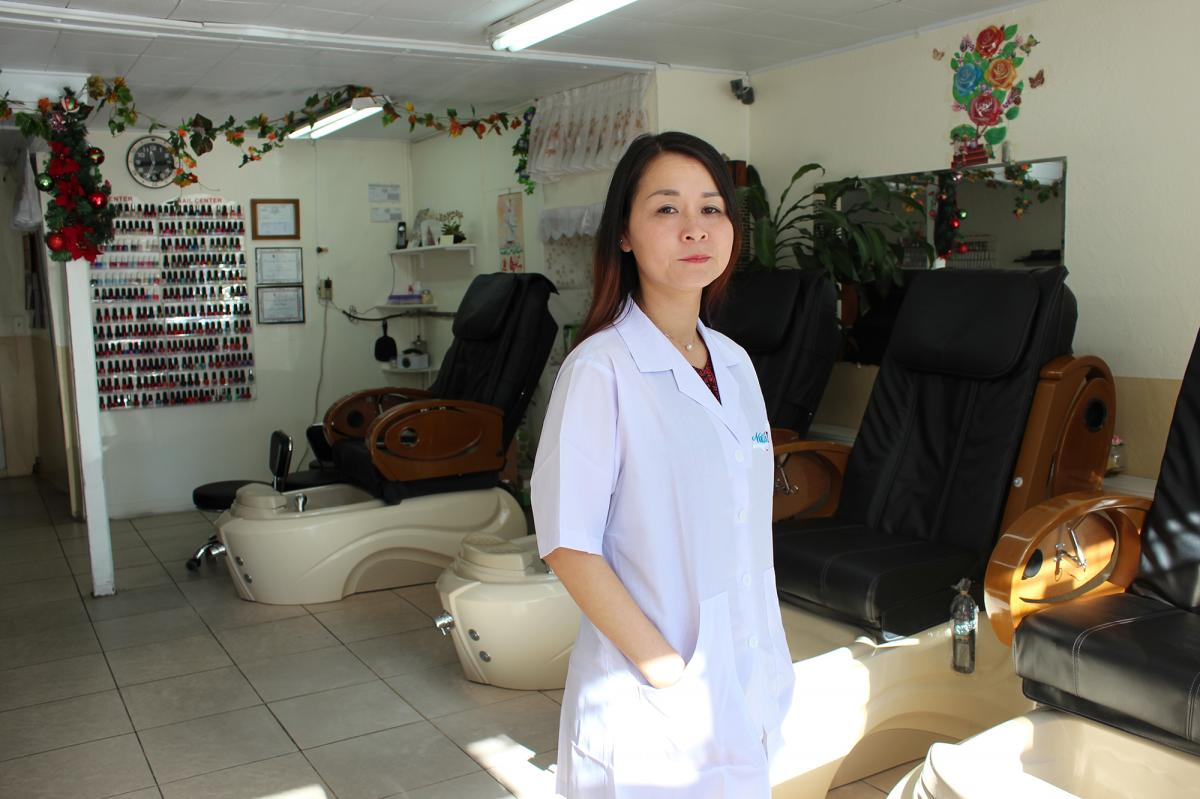 Mai Dang's Fashion Nails has been certified as a healthy salon since 2013. Salons with that designation provide proper ventilation, train employees on best practices, and avoid products containing formaldehyde, toluene and other particularly toxic solvent