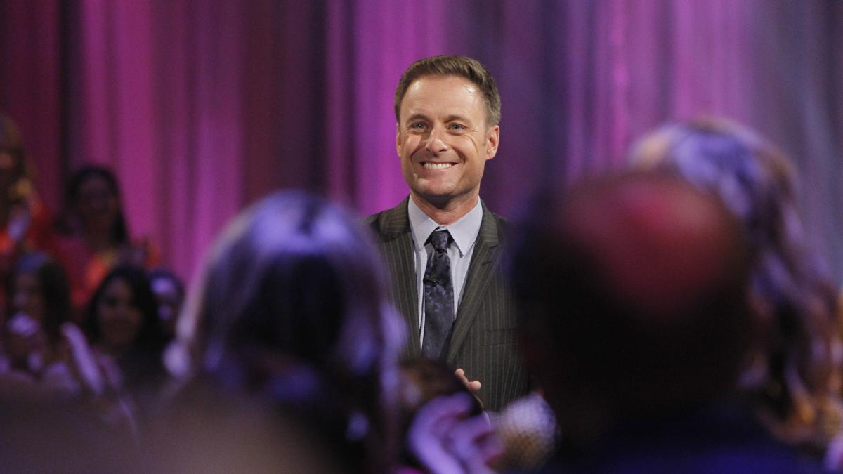 Chris Harrison, the host of The Bachelor and The Bachelorette.