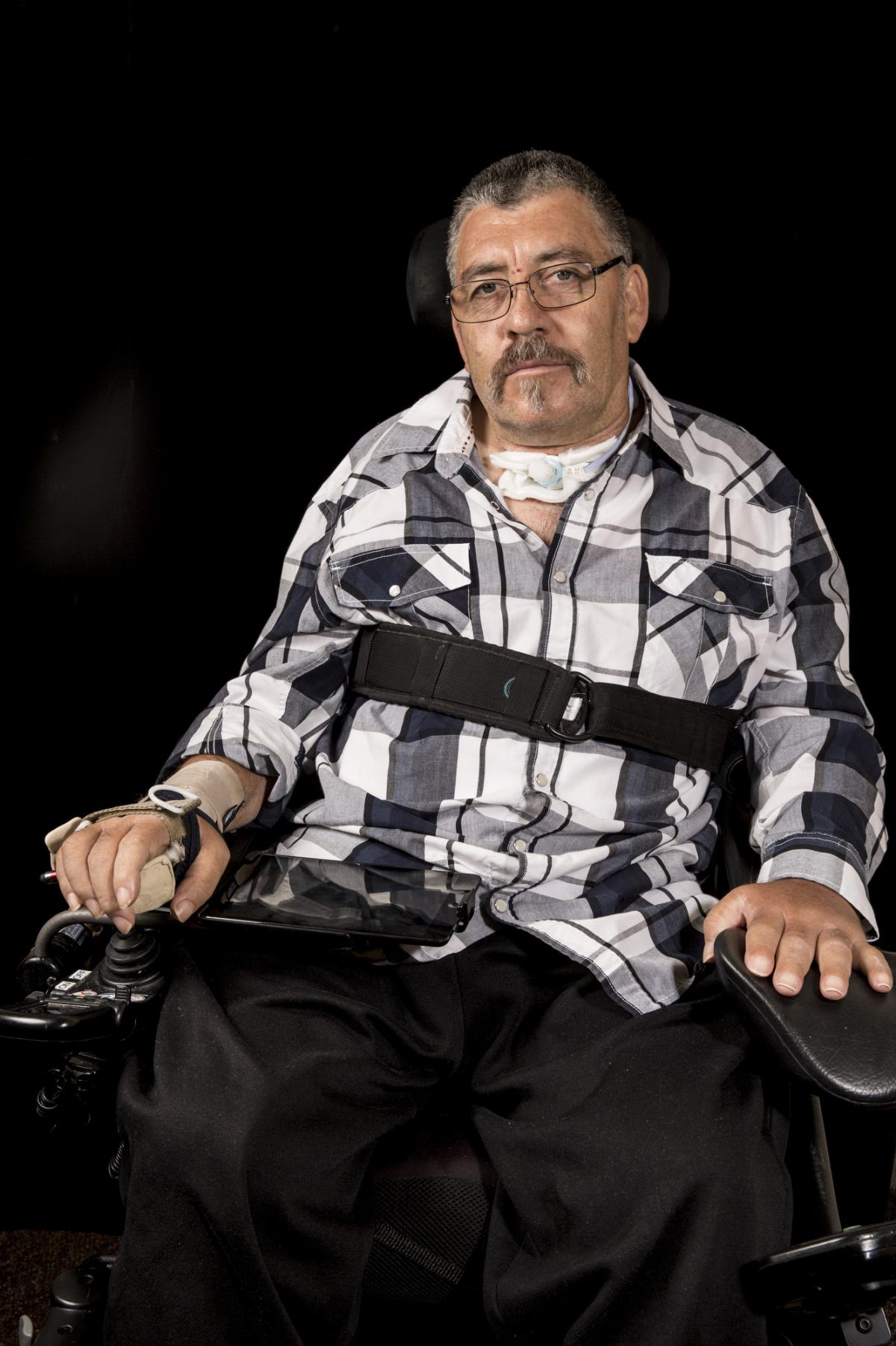 Nicolas Mercado's doctor prescribed $170,000 in home modifications so he would be able to return home to live, but when his insurer went bankrupt, his case went to the California Insurance Guarantee Association, a state agency that then rejected the modif