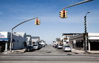 The corner of Wyoming Avenue and West Beech Street, a half block away from Liz Treston's house in Long Island, N.Y. The city was one of the coastal communities hardest hit by Superstorm Sandy in 2012.