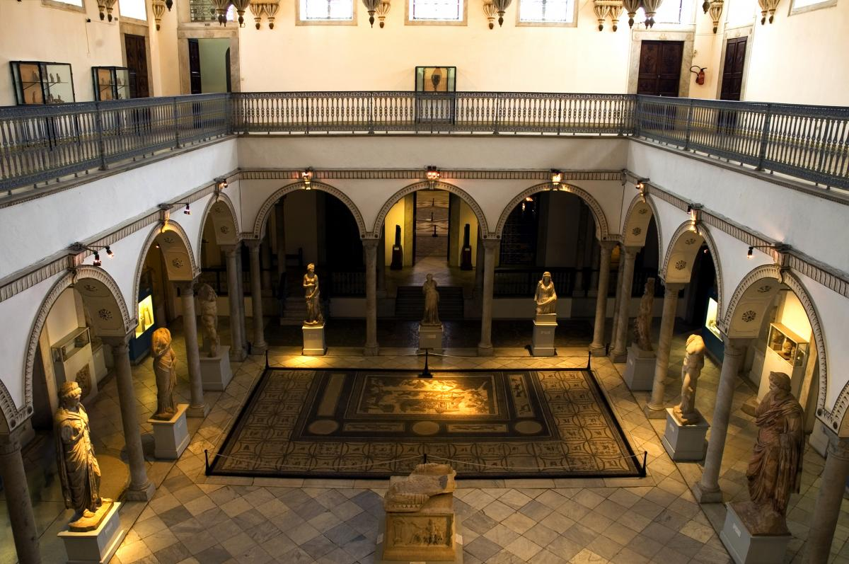 A view of the interior of the National Bardo Museum in Tunis prior to Wednesday's attack.