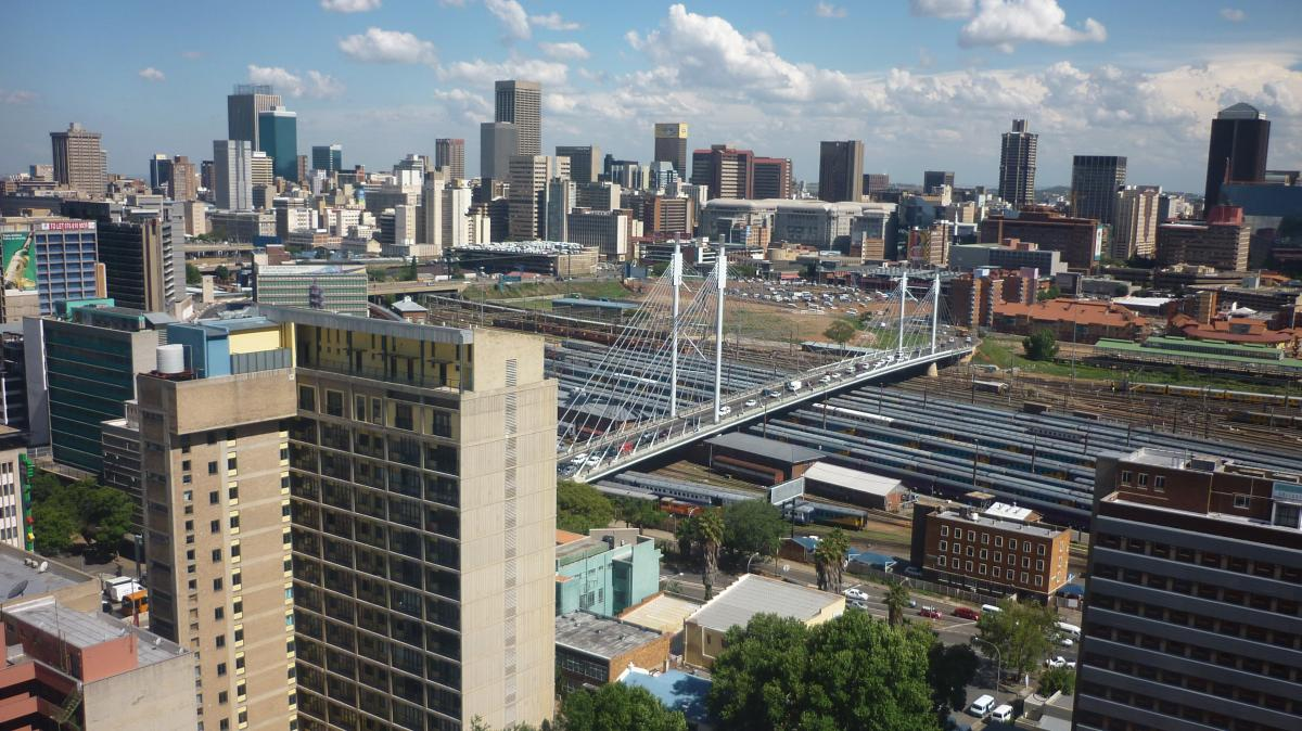 Johannesburg is the most populous city in South Africa, and the setting for Jassy Mackenzie's Jade de Jong crime novels.
