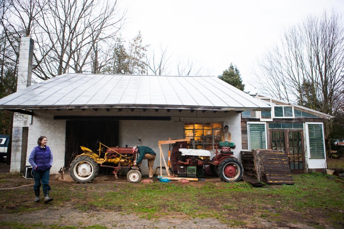 Chris and Sara Guerre are among a growing number of farmers who have made the choice to rent land to farm instead of buy because of increasing property values.
