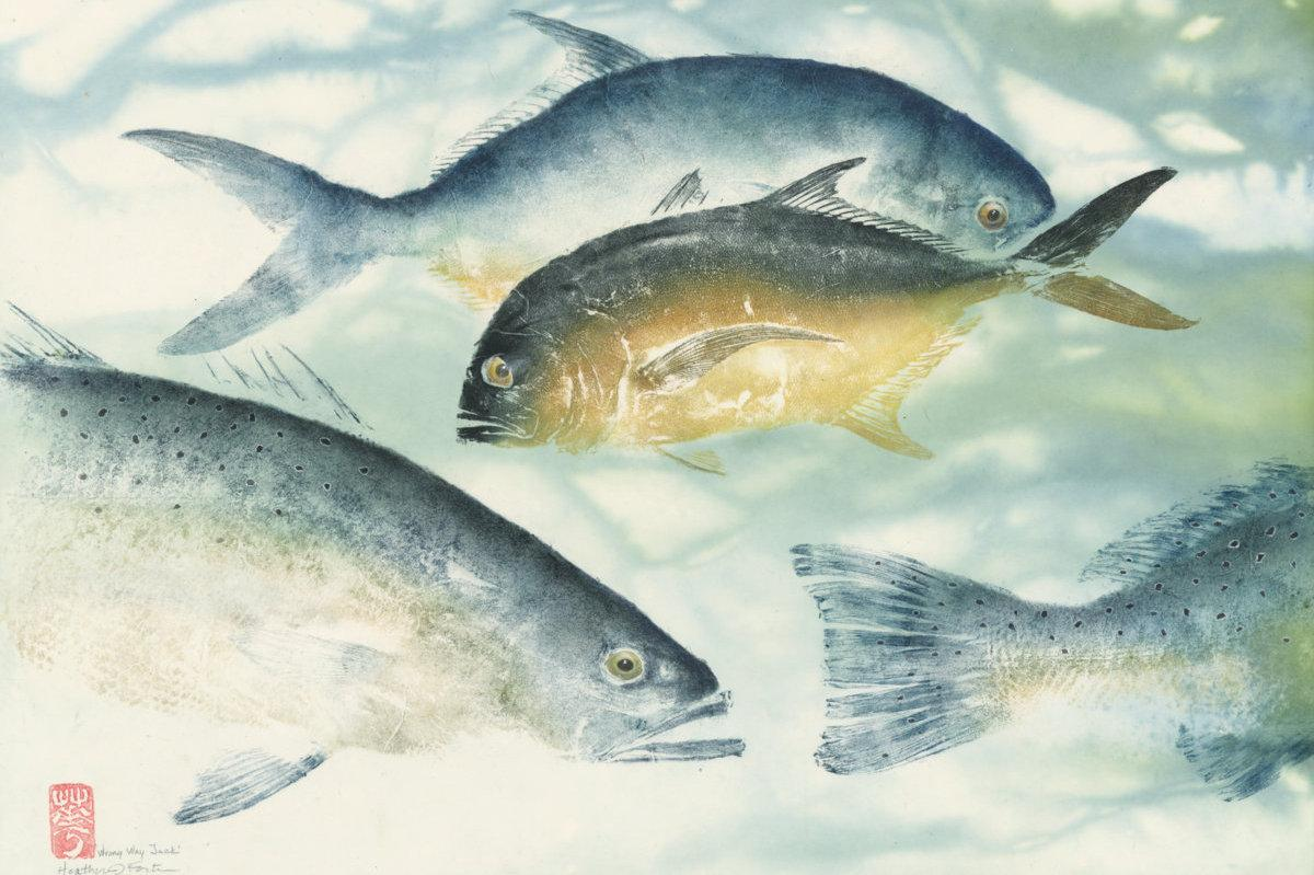 Wrong way Jack: jack crevalle, seatrout, permit.
