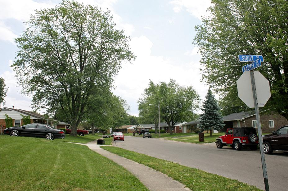 Today, there's little sign in Xenia's Arrowhead neighborhood of the 1974 devastation.