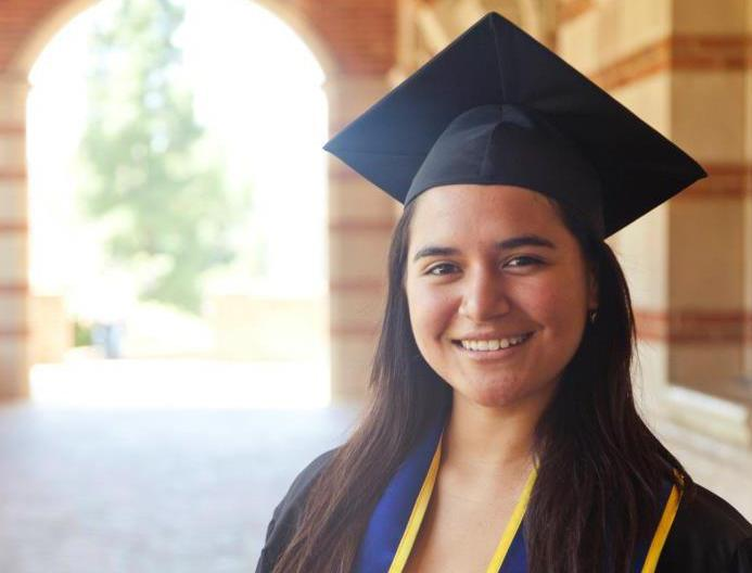 Sofia Campos, 23, is the head of the United We Dream campaign — a national network of youth-led immigrant organizations. Campos was born in Peru, but grew up in California, entirely unaware of her undocumented status until she tried applying for college