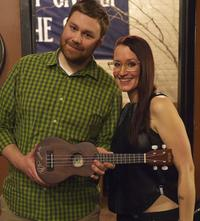AMA Champion Aaron Benor with Ingrid Michaelson, 2015.