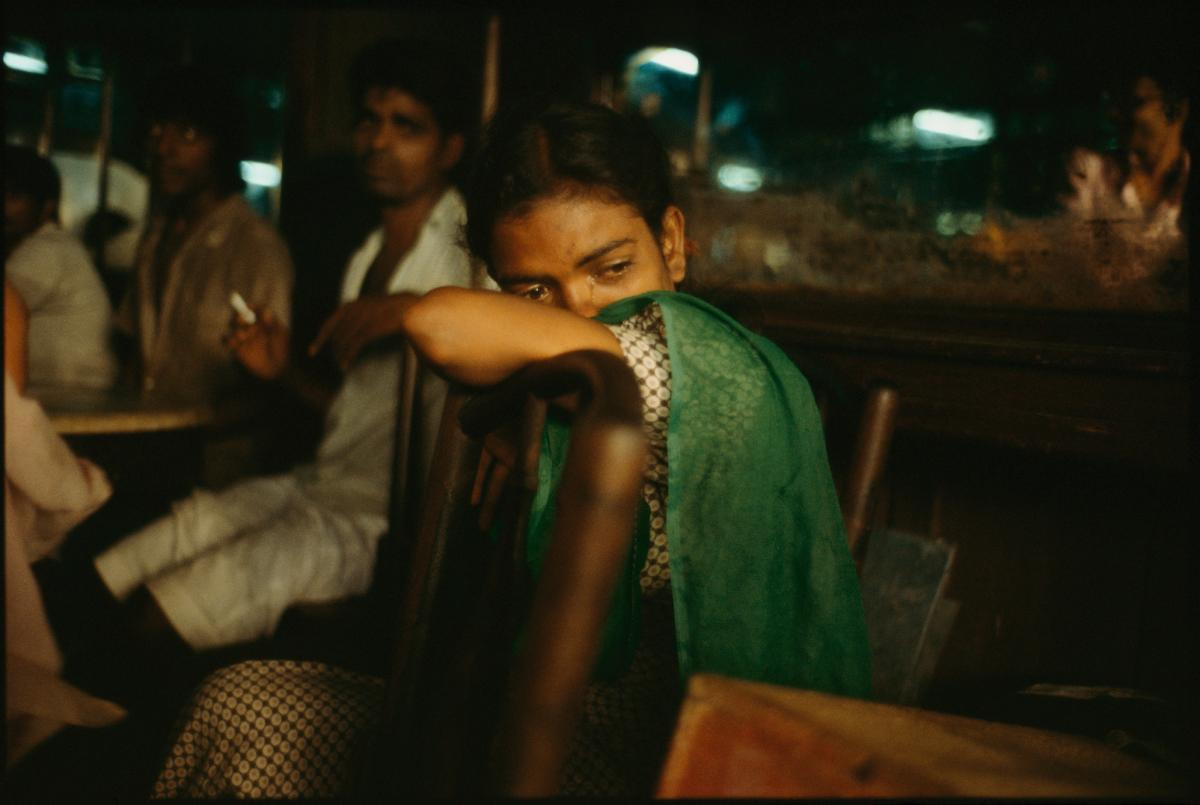 Falkland Road, Bombay, India. 1978