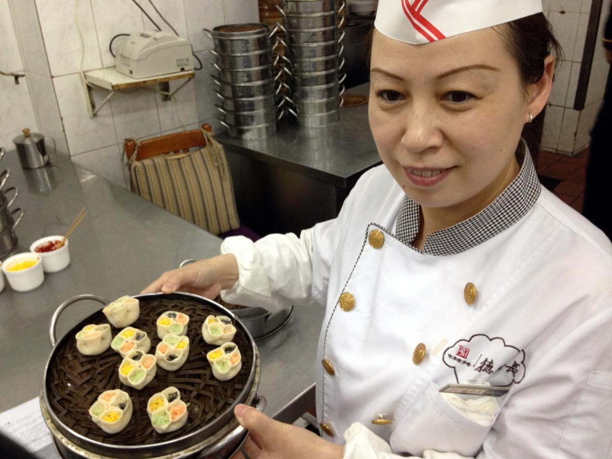 Dumpling Master: Chef Ma Shunli has been preparing dumplings at the Defachang restaurant since she was teenager.
