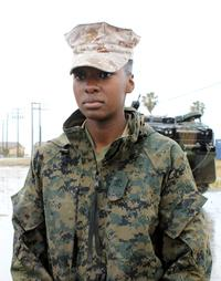 Sgt. Zarina Flemming.