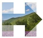 The Clinton campaign's New Hampshire logo.