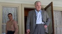 """Navy veteran Freddie (Phoenix) falls under the influence of cult leader Lancaster Dodd (Philip Seymour Hoffman) in Anderson's film, which critic Ella Taylor describes as """"one of the most twisted father-son tales ever told."""""""