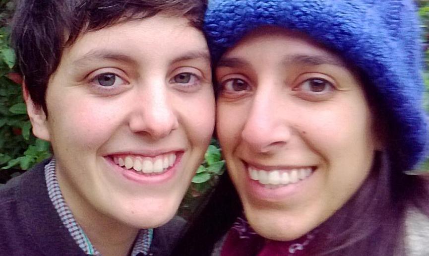 Camila Fierro and her girlfriend, Erica Brien.