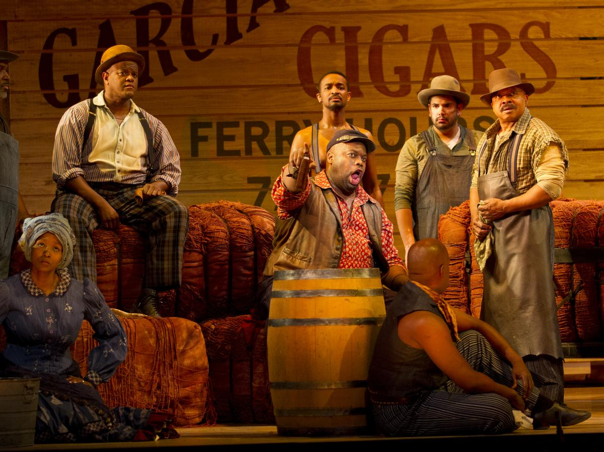 """Joe (Morris Robinson) is the dockworker role written for the legendary bass-baritone Paul Robeson; his song """"Ol' Man River"""" is one of the American musical theater's most enduring creations."""