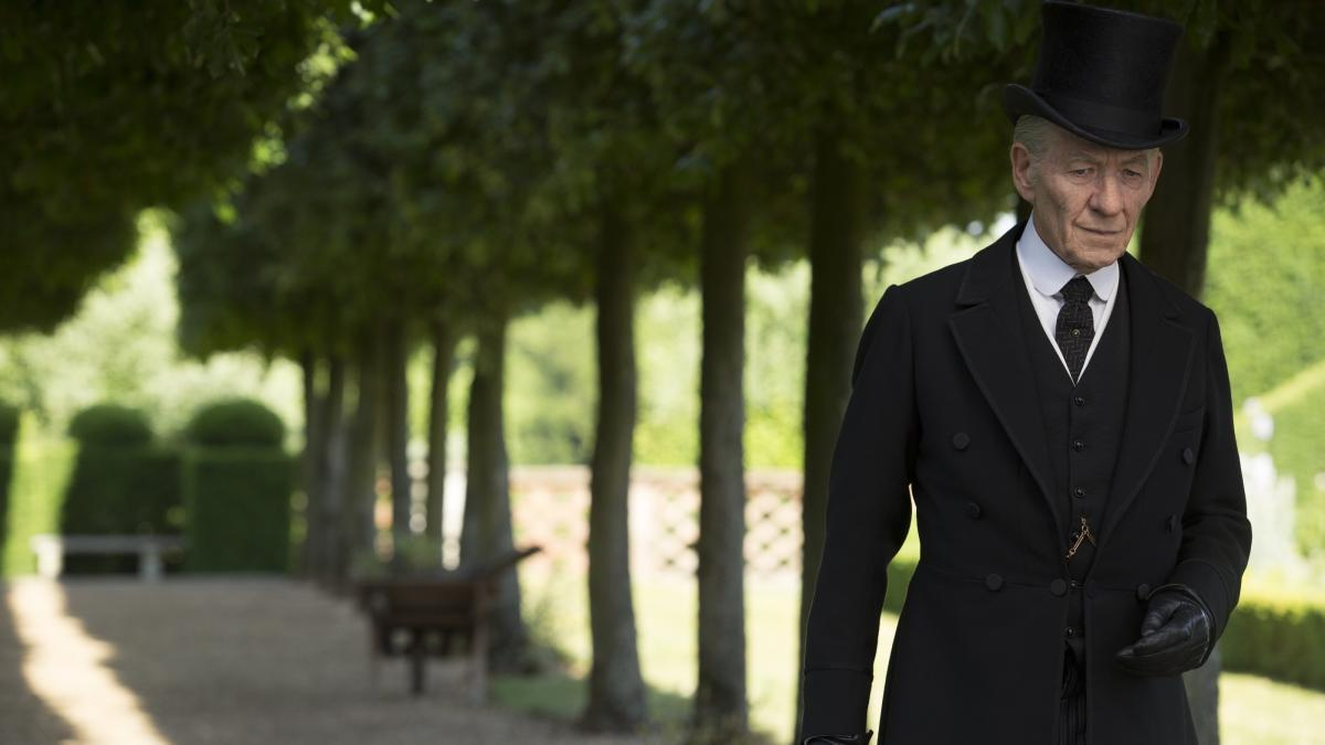 Ian McKellen comes to the role of Sherlock Holmes late, but with his customary elegance.