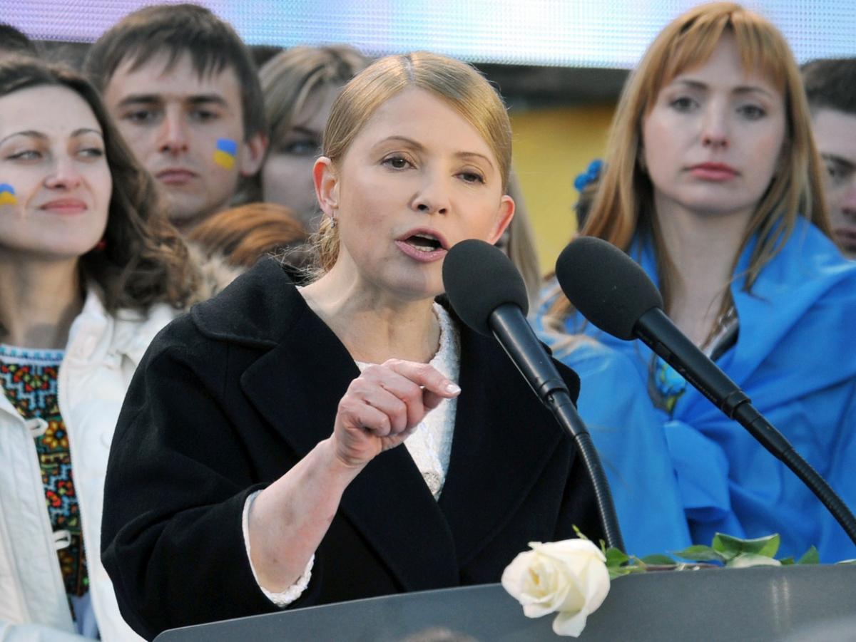 Ukraine's controversial opposition leader and former prime minister, Yulia Tymoshenko, is Poroshenko's main rival in upcoming presidential elections.