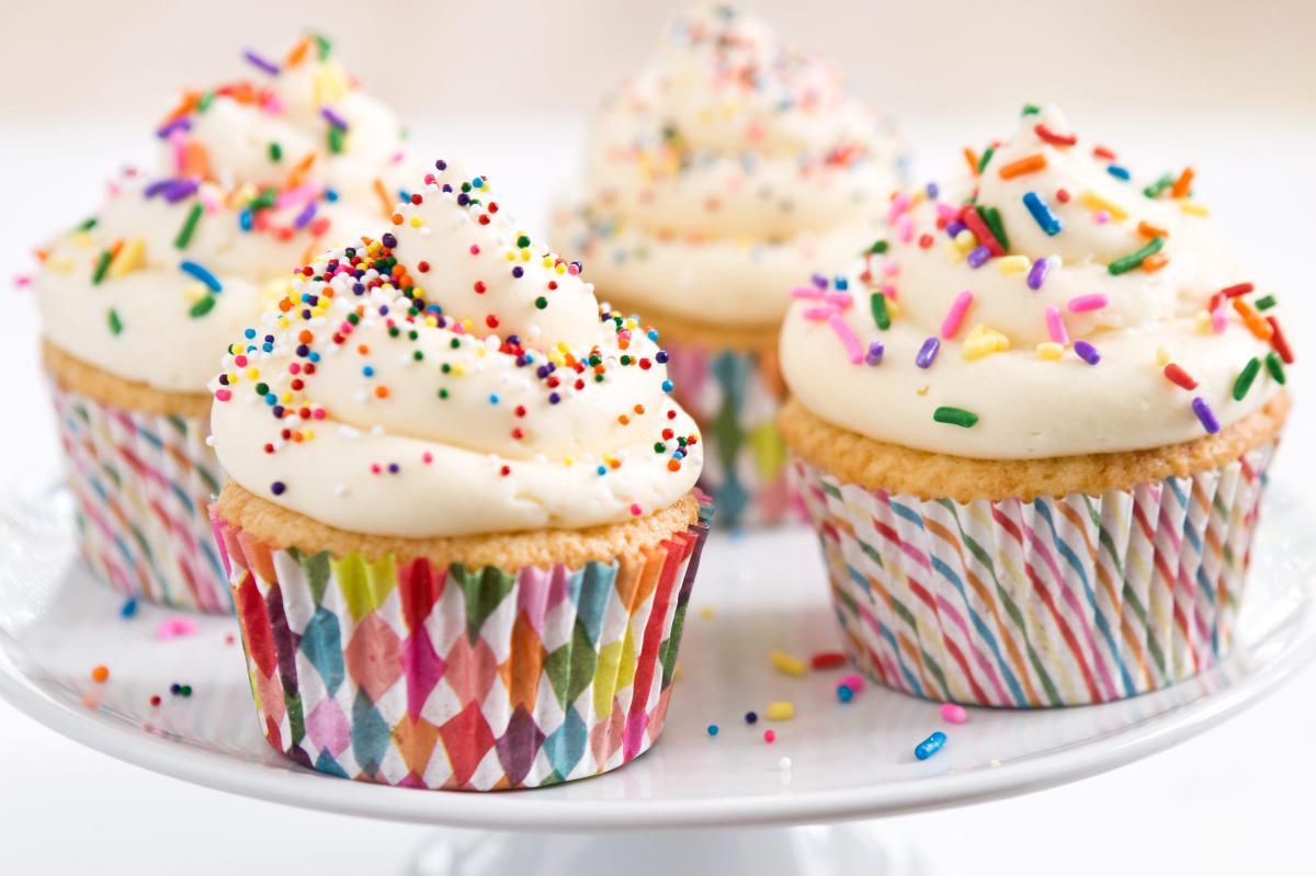According to America's Test Kitchen, the best gluten-free flours to bake with contain four ingredients — brown rice flour, white rice flour, potato starch and tapioca starch.