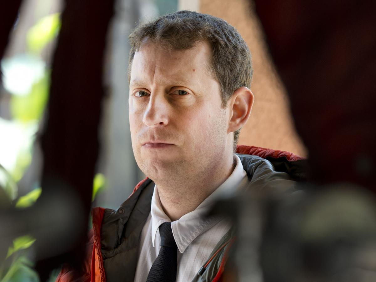 """Executive producer Scott M. Gimple says The Walking Dead shows a world that is stripped away of modern distractions: """"There's something about the situation that these characters are in that everything superfluous has been taken away from them."""""""