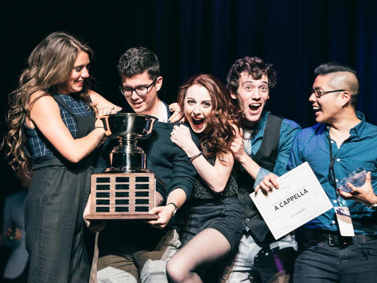 The SoCal VoCals were the winners of the 2015 International Championship of Collegiate A Cappella.