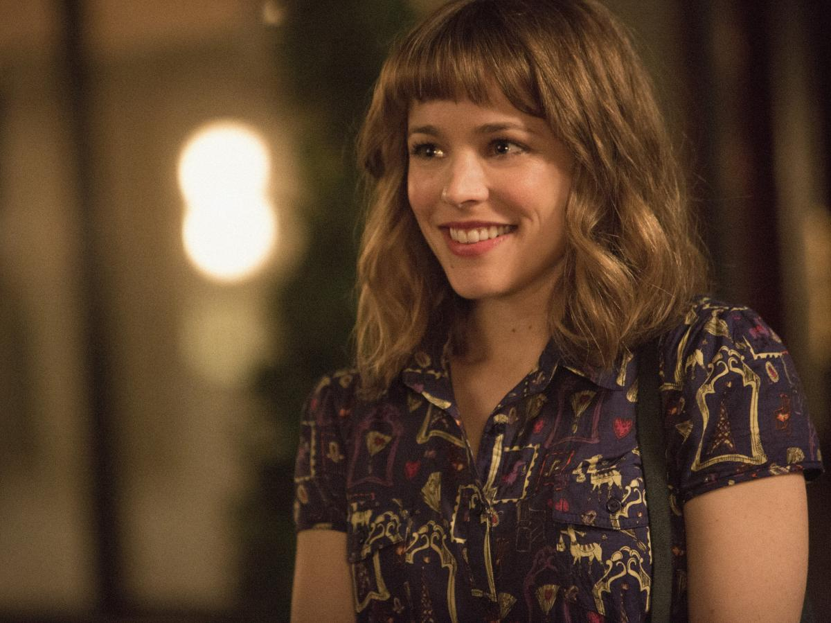 Time travel doesn't make Tim's relationship with Mary (Rachel McAdams) perfect so much as it washes over the imperfect bits that make it intriguing.