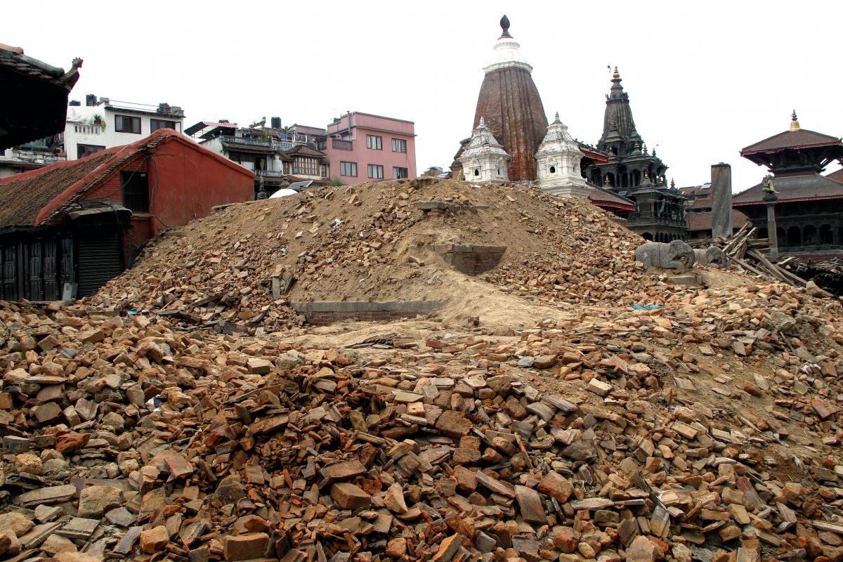 The earthquake devastated one of the world's largest collections of cultural heritage sites, turning some centuries-old monuments into piles of brick.