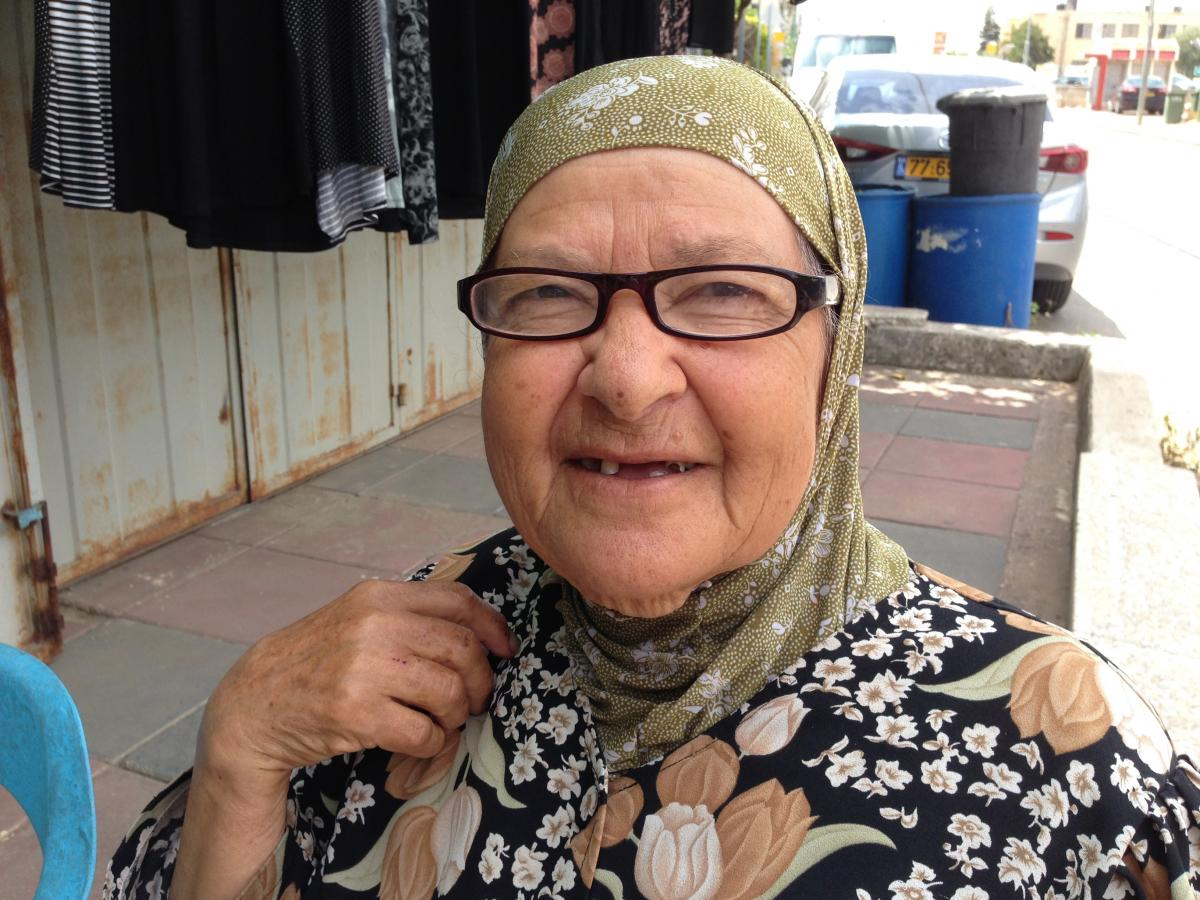 Samiyah Matar, 80, who owns a dress shop in the Arab-Israeli town of Tira, says shorts and sleeveless shirts aren't acceptable in public, but perhaps women could run if they covered up.