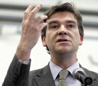 France's socialist Minister for Industrial Renewal Arnaud Montebourg, shown here on Feb. 18, responded strongly to Taylor's criticism.