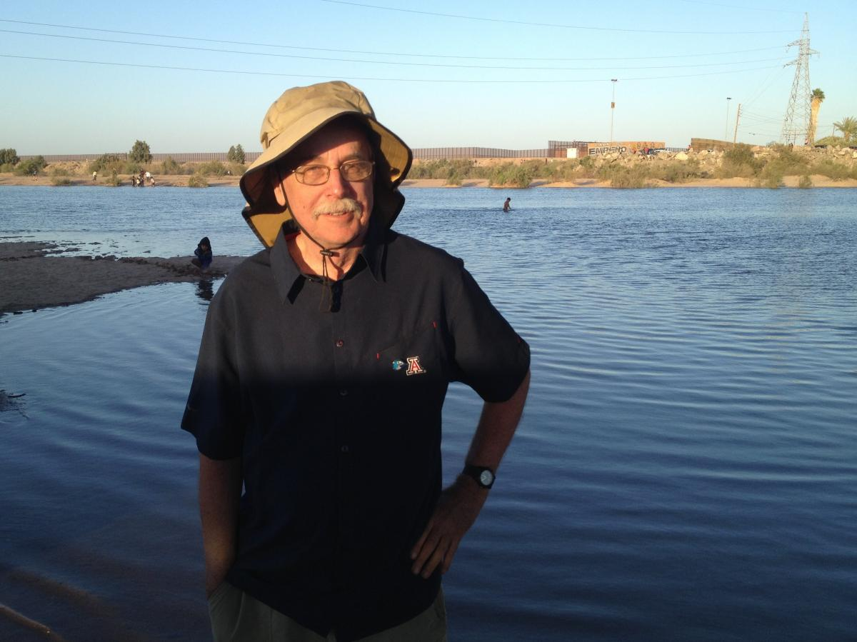 """Karl Flessa, a geoscientist, has studied the damage and restoration along the Colorado River Delta, which runs from the U.S. to Mexico. He recently watched people splash in the flowing water, saying, """"It doesn't get any better than this."""""""