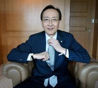 Akira Nishimura, the general manager of Hotel Okura.