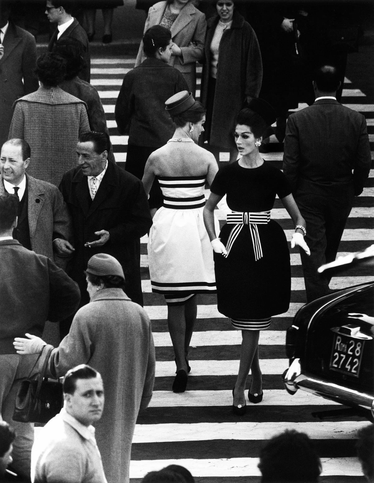 Simone, Piazza di Spagna, 1960