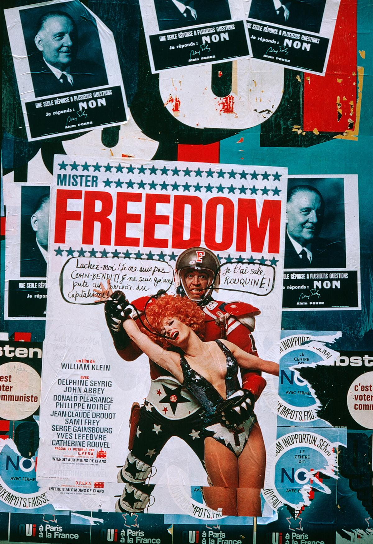 Poster for the film Mister Freedom, 1967