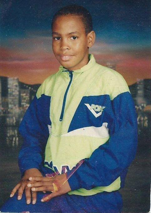 """Nicholas Heyward Jr. the year before he was killed. """"I would give my life today if I could, you know, just have him back,"""" his dad said during a recent visit to StoryCorps."""