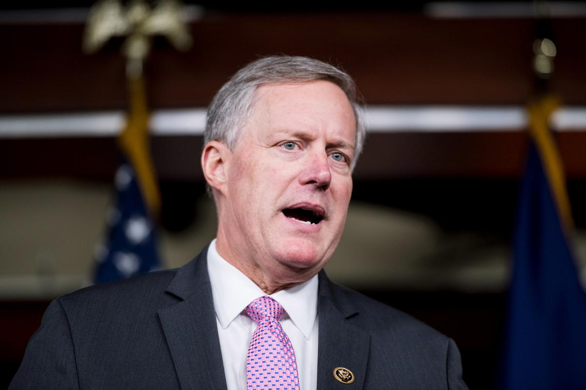 Rep. Mark Meadows, R-N.C., chair of the House Freedom Caucus, speaks during a news conference on Affordable Care Act replacement legislation in February.