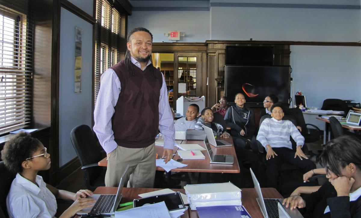 Dennis Henderson teaches at Manchester Academic Charter School in Pittsburgh.