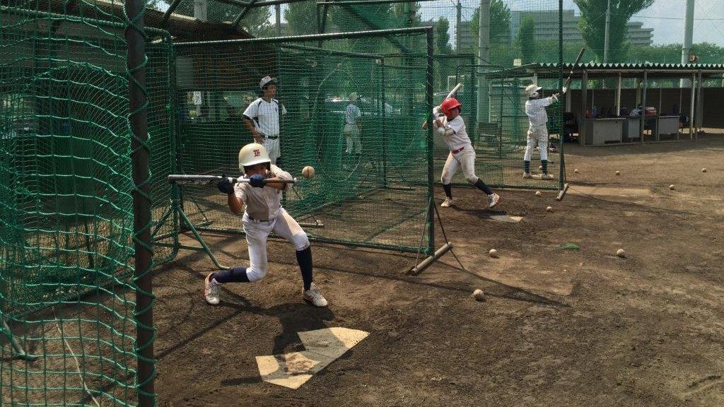 Musashi Fuchu Little League baseball players spend eight to 10 hours a day on weekends practicing on this field on the outskirts of Tokyo. This traditional powerhouse team has won the Little League World Series twice before, in 2013 and 2003, but did not