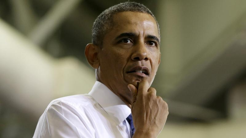 President Obama speaks about the Affordable Care Act on Thursday in Largo, Md. In the latest fiscal fight with Republicans, the president is lacking a partner to make a deal with — or even to vilify.