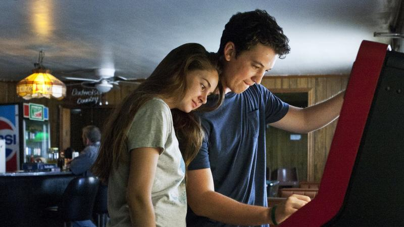 Shailene Woodley, who played George Clooney's rebellious daughter in The Descendants, turns in a splendidly calibrated performance as a soft-spoken good girl who falls hard for a high school party animal (Miles Teller) in The Spectacular Now.