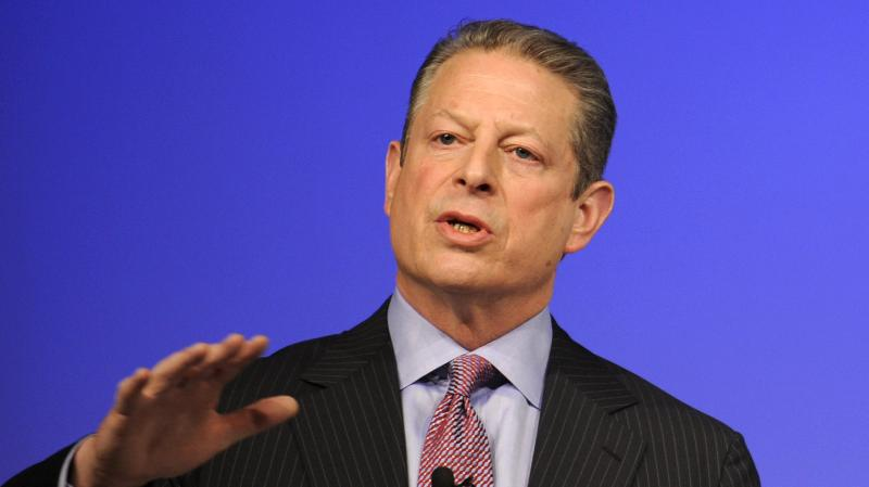Former U.S. Vice President Al Gore delivers a speech during the United Nations Climate Change Conference in Copenhagen on Dec. 15, 2009.