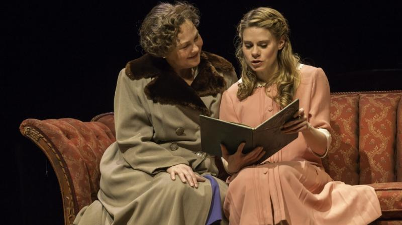 In a Broadway transfer of the American Repertory Theatre's acclaimed production of The Glass Menagerie, Cherry Jones plays Amanda, mother to the very troubled Laura (Celia Keenan-Bolger). The play cemented Tennessee Williams' reputation as an American ori