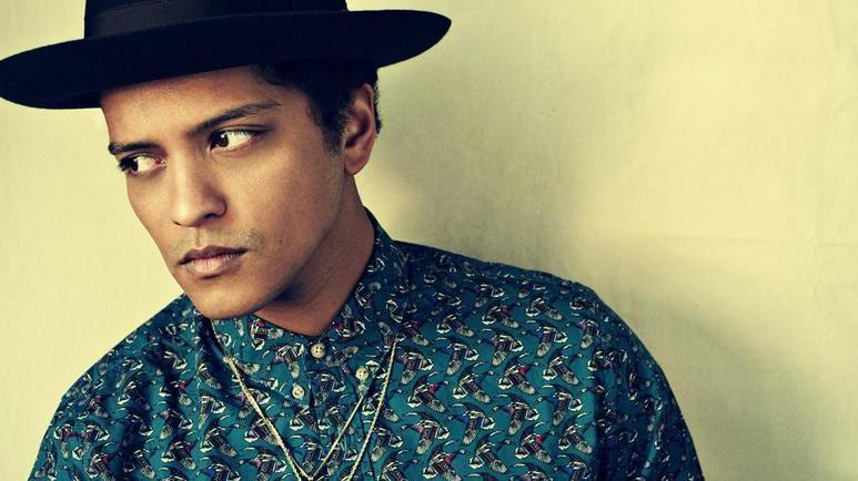 Bruno Mars draws inspiration from across the pop landscape on his second album, Unorthodox Jukebox.