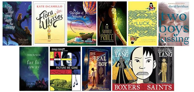 The 2013 National Book Award long list for Young People's Literature was announced Monday. Click here to see the full list.