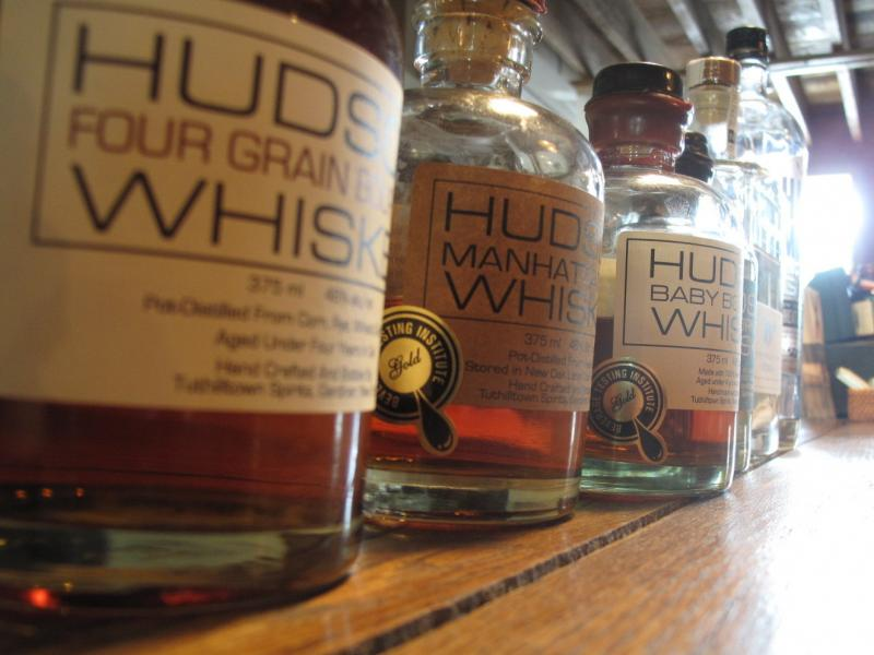 Tuthilltown Spirits in New York makes a clear corn whiskey, and the first legal aged whiskey in the state since Prohibition, among other products.